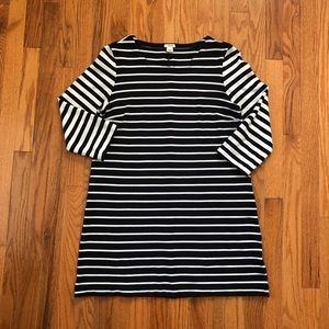 J.Crew stripes dress size medium